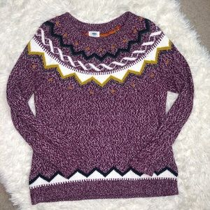Old Navy Maroon Sweater XL